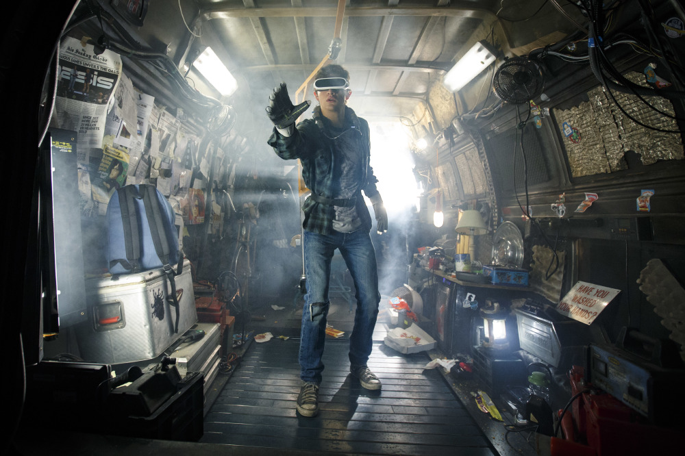Tye Sheridan stars as Wade, aka Parzival in Ready Player One