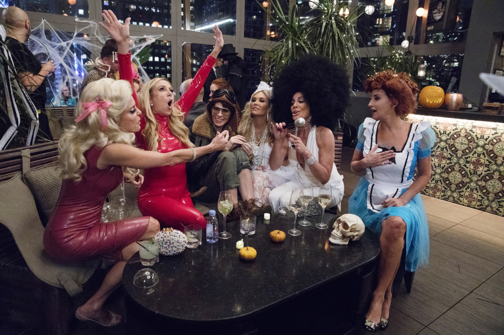 Real housewives love a costume party! / Photo credit: Bravo