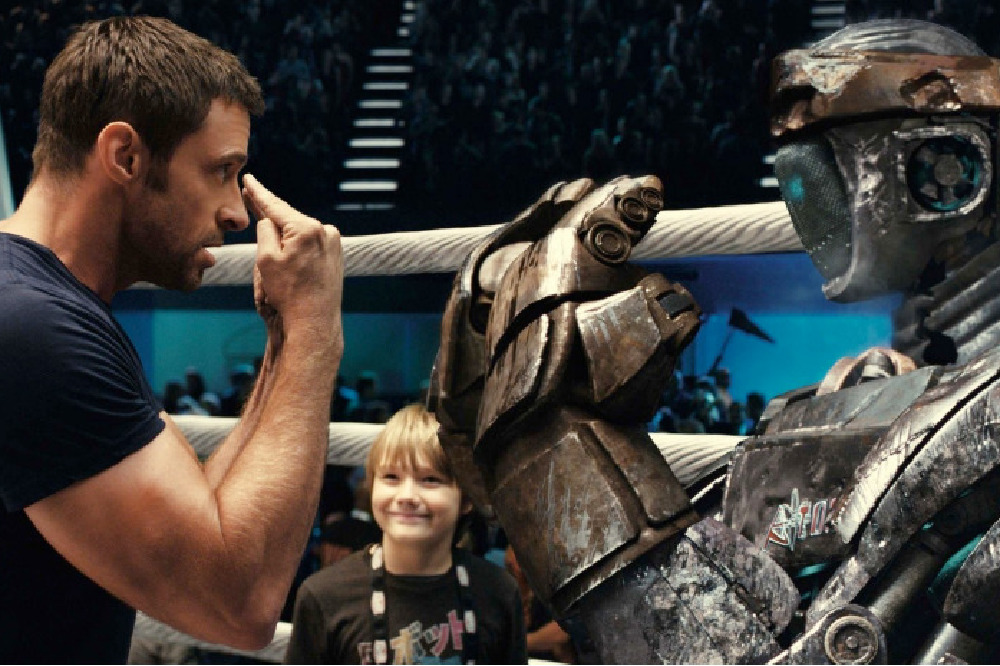 Hugh Jackman and Dakota Goyo in Real Steel / Picture Credit: Touchstone Pictures