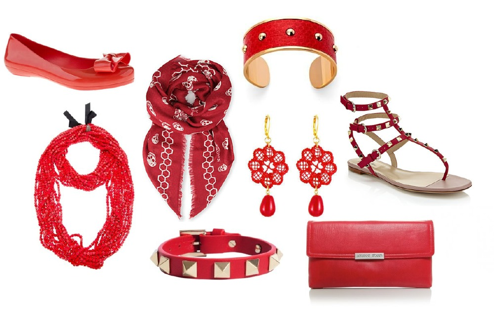 Red Accessories For Red Nose Day
