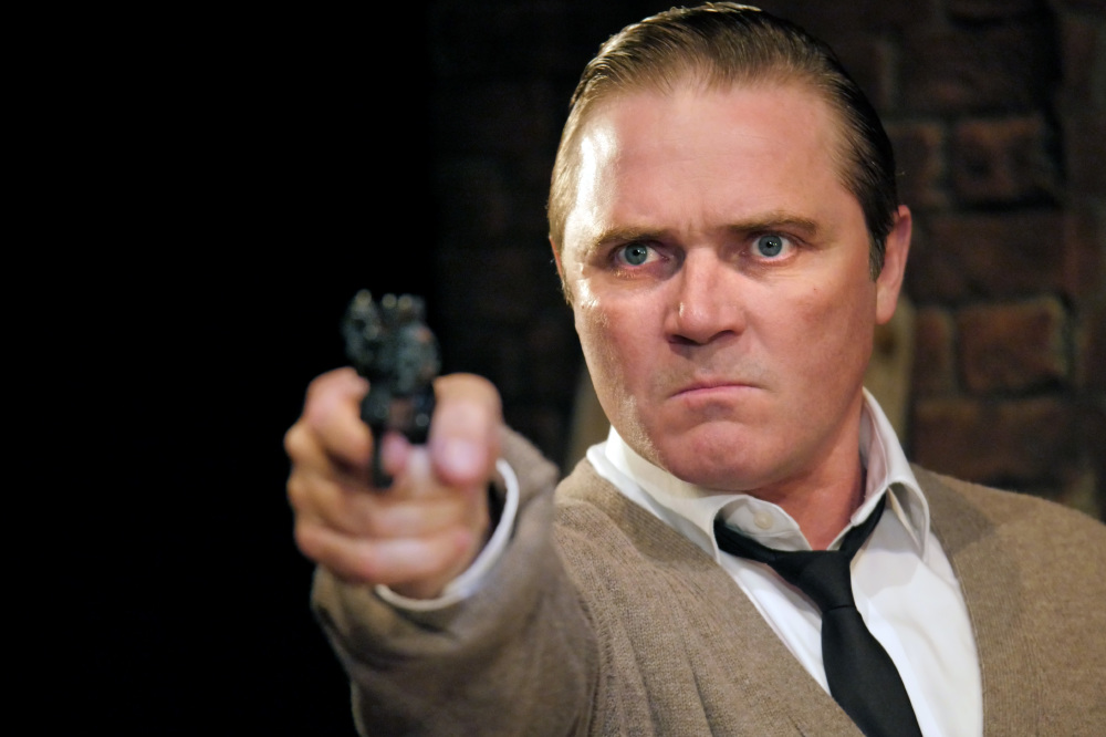 Alex Ferns in Rehearsal for Murder