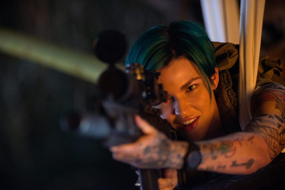 Ruby Rose stars as Adele in xXx: Return of Xander Cage
