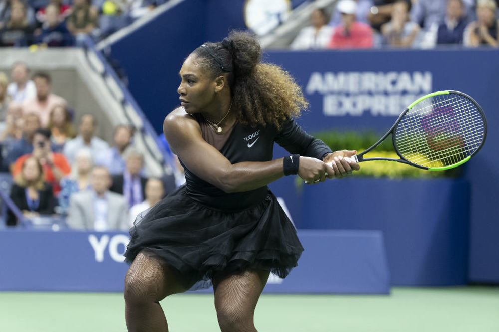 Serena Williams at the US Open 2018 / Photo Credit: Lev Radin/Zuma Press/PA Images