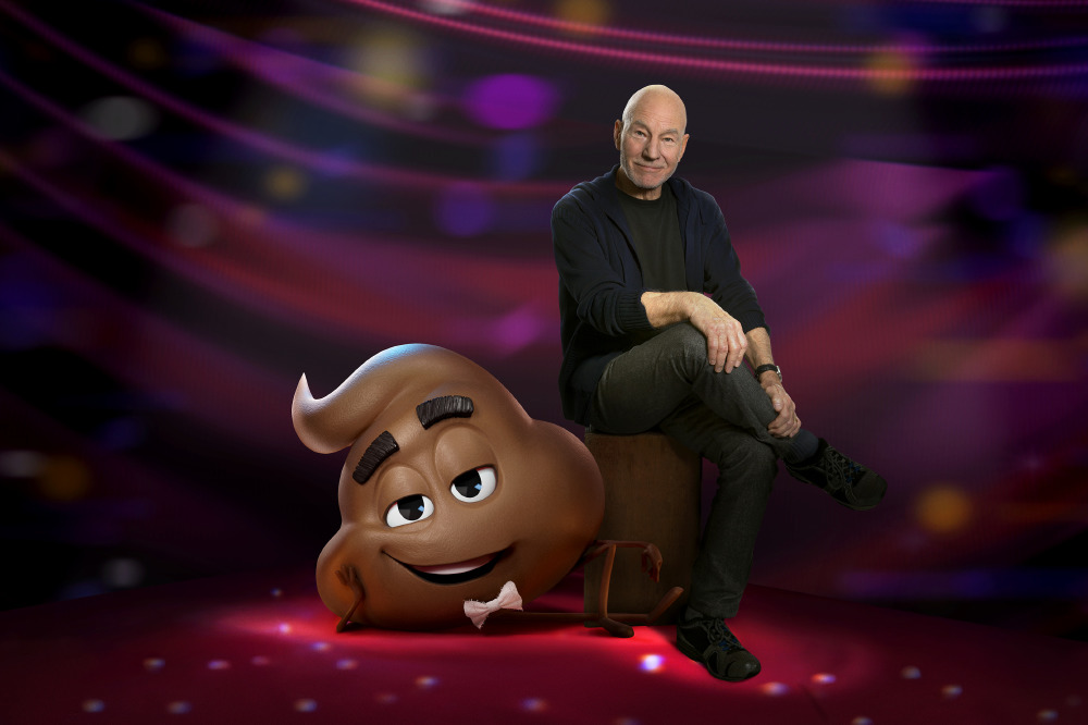 Sir Patrick Stewart voices Poop