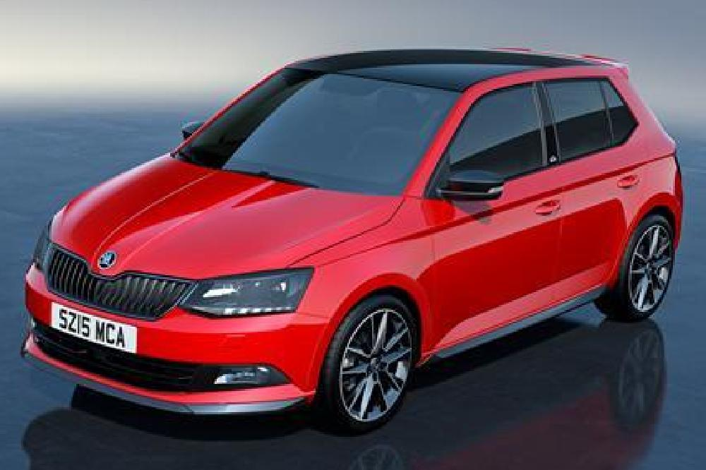 skoda introduces the fabia monte carlo. Black Bedroom Furniture Sets. Home Design Ideas