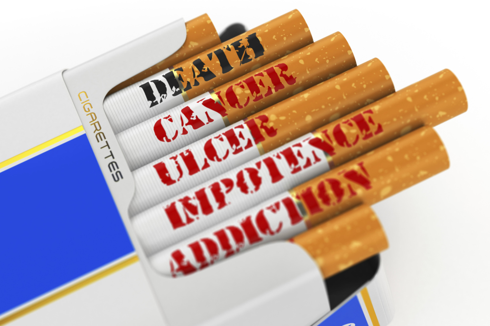a discussion on the issue of cigarette smoking