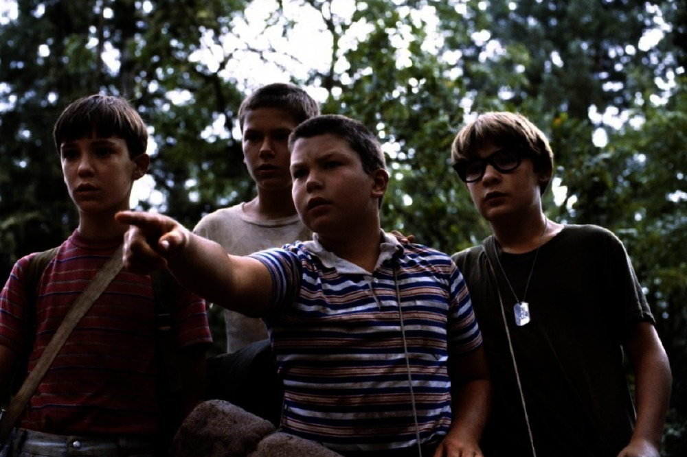 into the world stand by me rob reiner These words signal the end of stand by me, rob reiner's classic 1986  from his  service in world war two, and chris' (river phoenix) family.