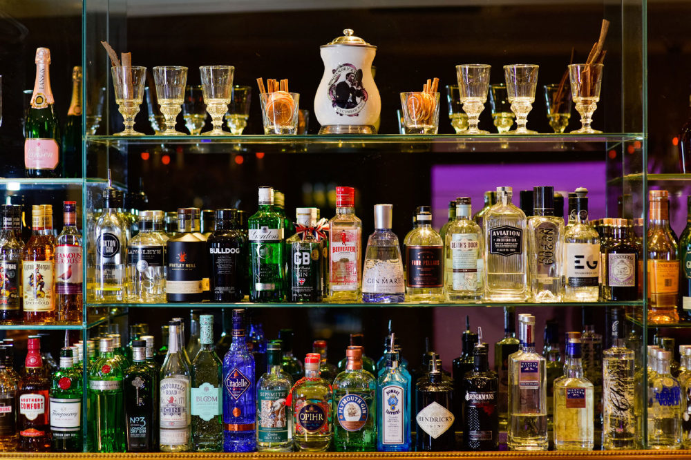 The Choice in The Gin Bar