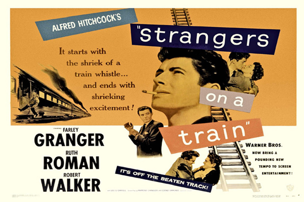 'Strangers on a Train': A Technically Perfect Psychological Carousel as One of Hitchcock's Best