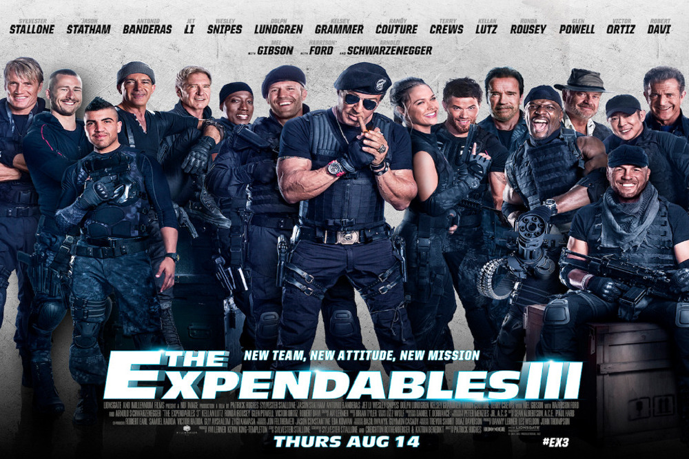 The Expendables 3 Late...