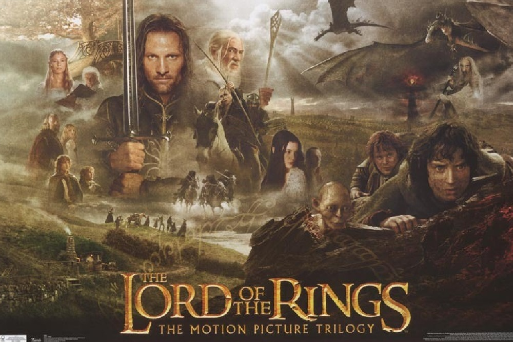 Artwork for The Lord of the Rings trilogy