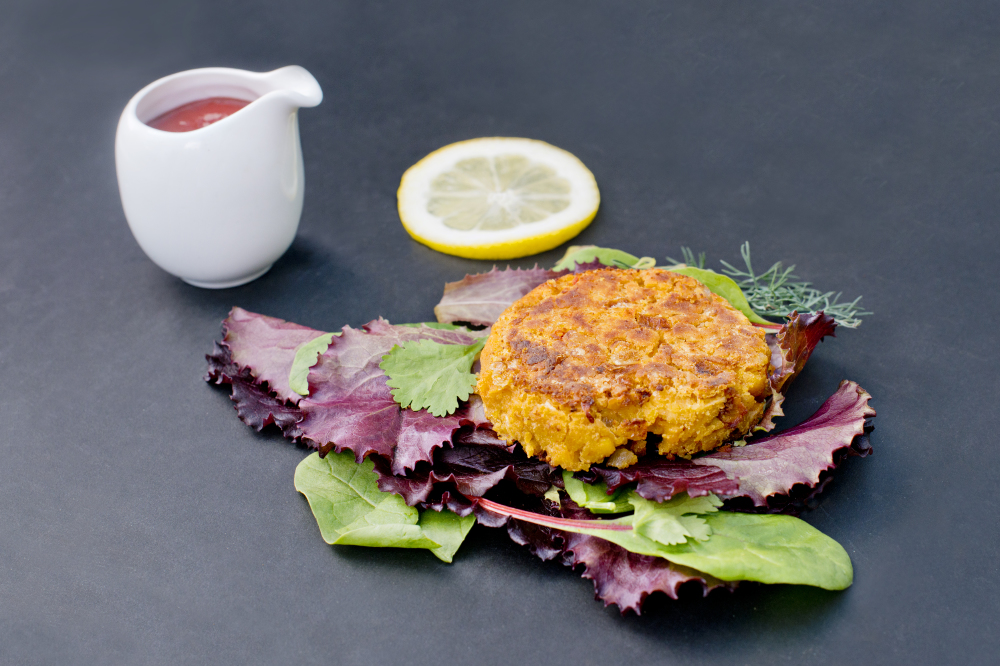 Chickpea Burgers By John Bishop