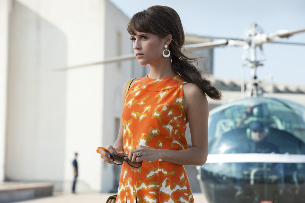 Alicia Vikander in The Man From U.N.C.L.E.