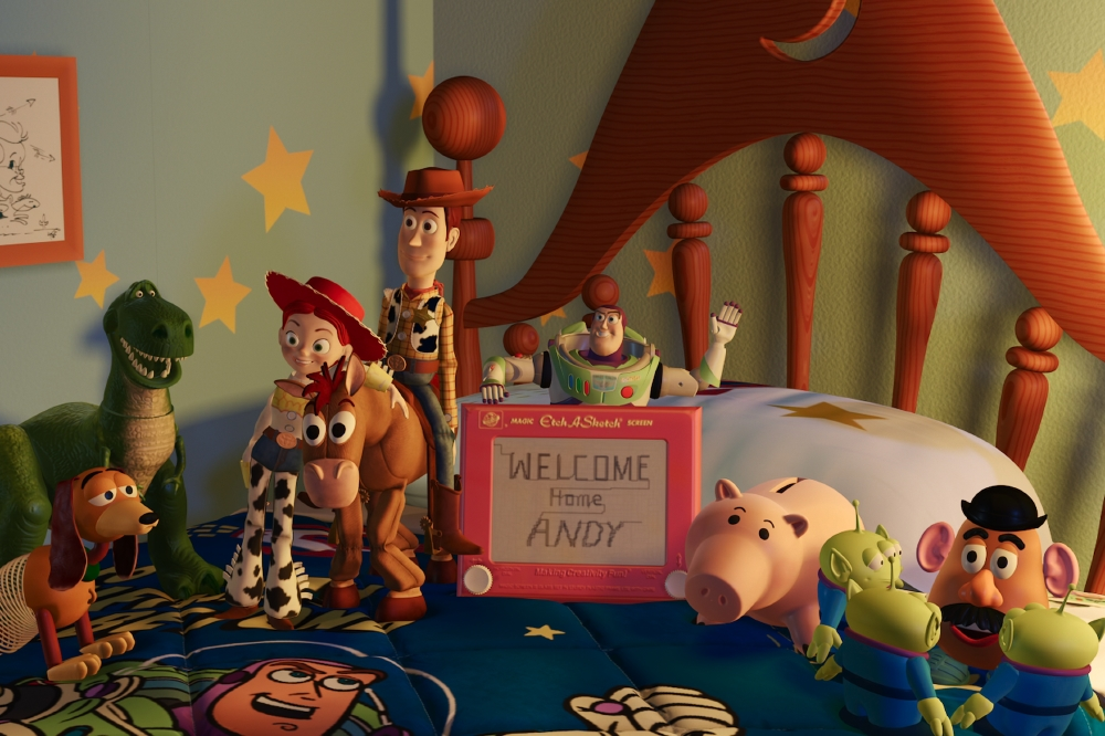 The whole gang waiting for Andy to come home / Picture Credit: Disney/Pixar
