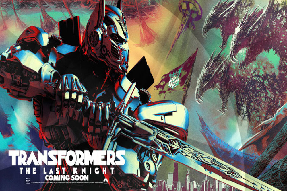 Transformers: The Last Knight is released June 23