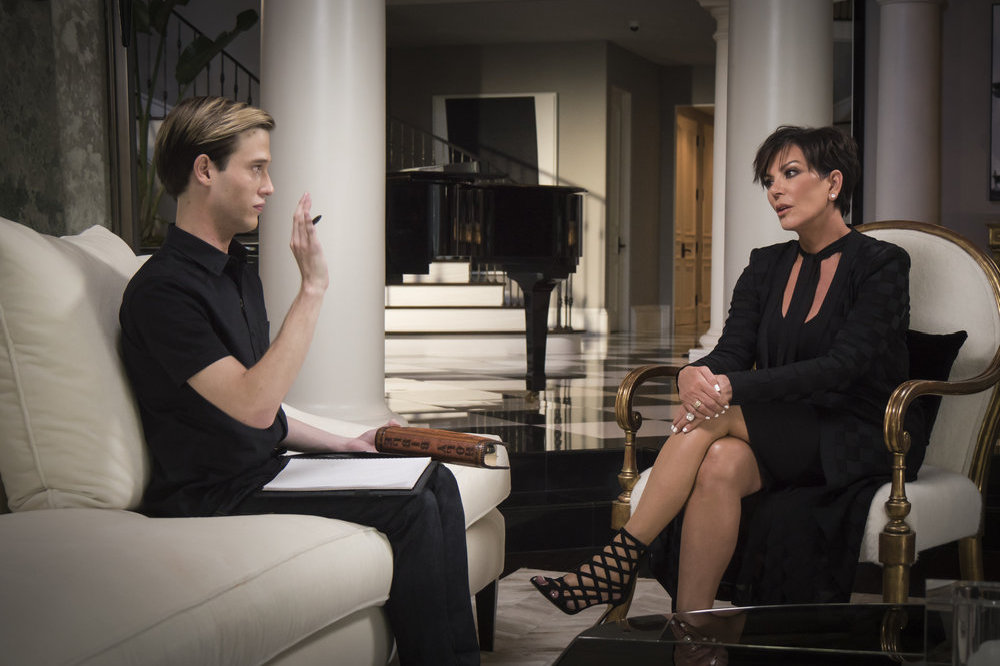 Kris Jenner has had a reading from Tyler