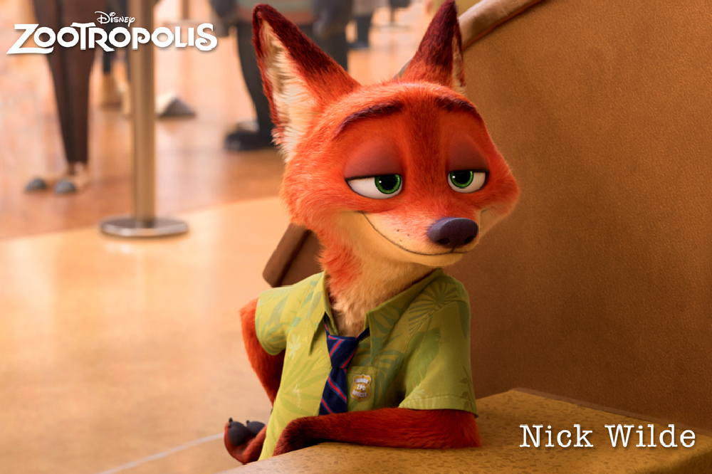 Jason Bateman Voices The Character of Nick Wilde