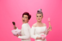 Cancer Research UK's Race for Life ambassadors, Sharon and Kelly Osbourne