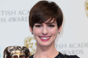 Anne Hathaway -  Bafta Press Room