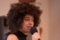 Aph Ko speaking at Whidbey Intersectional Justice conference. Photo credit: Pax Ahimsa Gethen
