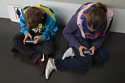 Children are spending more time on social sites
