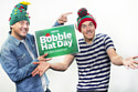Dick & Dom are supporting NSPCC's Bobble Hat Day