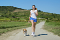 Use your dog as a way to get more exercise