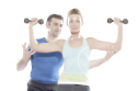 Working out with a personal trainer could help improve fitness