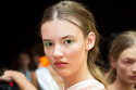 Fyodor Golan SS15 backstage with ghd