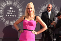 Gwen Stefani stood out in her pink outfit