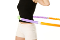 Use a hula hoop to tone your mid-section