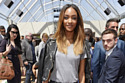 Jourdan Dunn kept it chic in her jeans and tee combo
