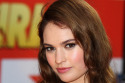 Lily James -  Fast Girls Premiere