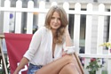 Millie Mackintosh is making the most of the sun with a picnic
