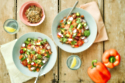 Chopped Salad With Savoury Chipotle Granola