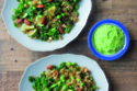 Nutty Pea And Quinoa Bowl