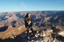 Sabrina at The Grand Canyon