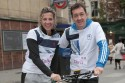 Sally Gunnell and Christ Boardman