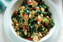 Spicy Spinach, Egg & Quinoa Scramble