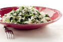 Spring Spinach and Parsley Risotto