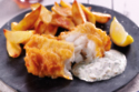 Tartar Sauce And Beer Battered Fish