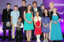 Nikki (purple dress) was awarded a WellChild Award by Prince Harry