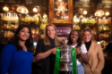 BT Sport presenter Reshmin Chowdhury, ex-England international Rachel Brown-Finnis, Arsenal's Danielle Carter and Reading's Fara Williams