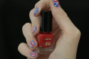 Sophy Robson How to Olympic nail art
