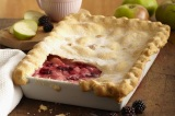 British Pie Week: Apple and Blackberry Pie Recipe
