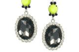 ASOS Neon Blast Gem Drop Earring