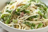 Asparagus, Pancetta and Parmesan Linguine Recipe