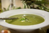 VIDEO: Asparagus and Shallot Soup Recipe