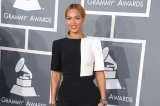 Beyonce opted for a simple sleek ponytail at the Grammy Awards