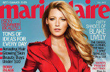 Blake Lively smoulders on the cover